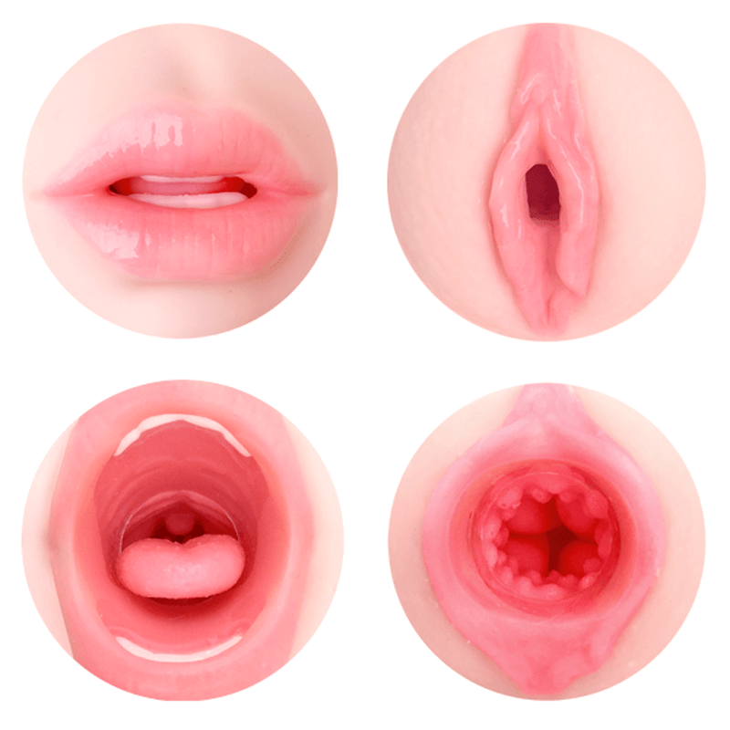 ONDO double-sided onahole oral pussy masturbator box art anime