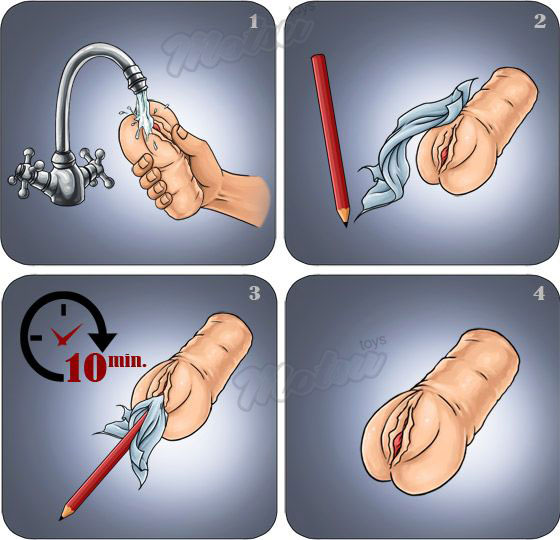 how to clean a onahole?